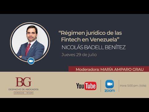 Régimen Jurídico de las Fintech en Venezuela - Nicolás Badell Benítez