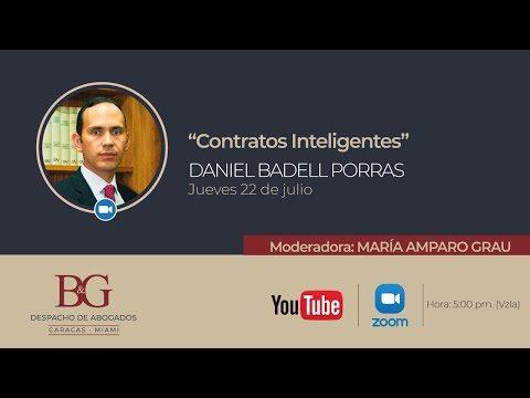 """Conferencias Badell & Grau - Derecho y Tecnología. """"Contratos inteligentes"""" Daniel Badell"""
