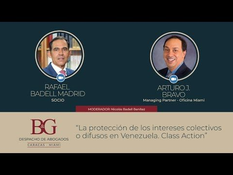 La Protección de los intereses colectivos o difusos en Venezuela. Class Action
