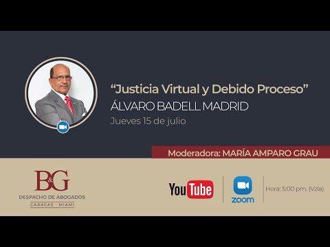 """Conferencias Badell & Grau - Derecho y Tecnología """"Justicia Virtual y Debido Proceso"""" Álvaro Badell"""